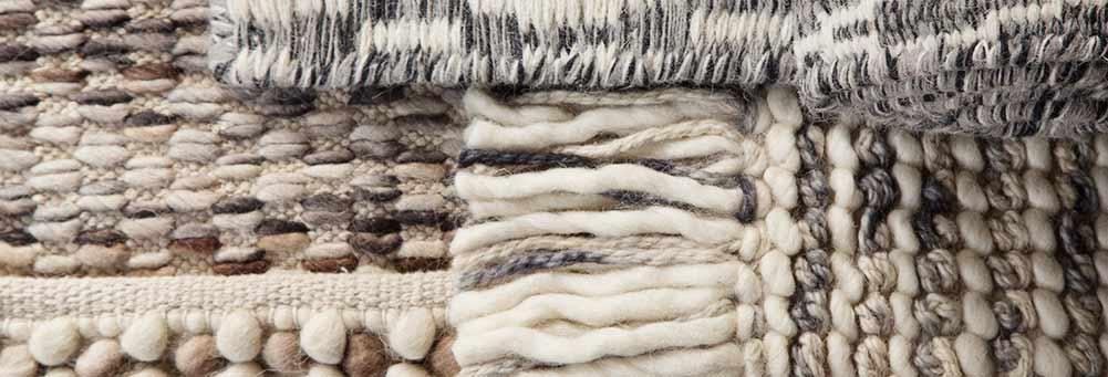 Carpetes com relevo