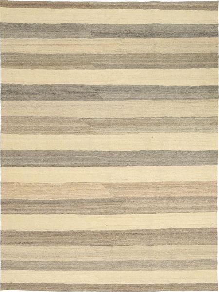 Kilim Moderno Tapete 174X239 Moderno Tecidos À Mão Cinzento Claro/Amarelo (Lã, Pérsia/Irão)