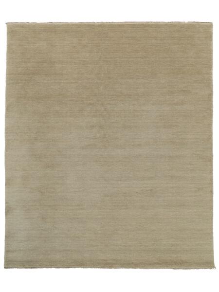 Handloom Fringes - Greige Tapete 250X300 Moderno Cinzento Claro Grande (Lã, Índia)