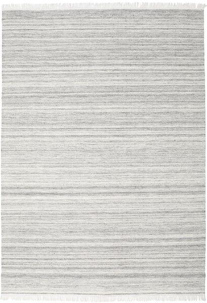 Diamond Lã - Cinzento Tapete 240X340 Moderno Tecidos À Mão Cinzento Claro/Branco/Creme (Lã, Índia)