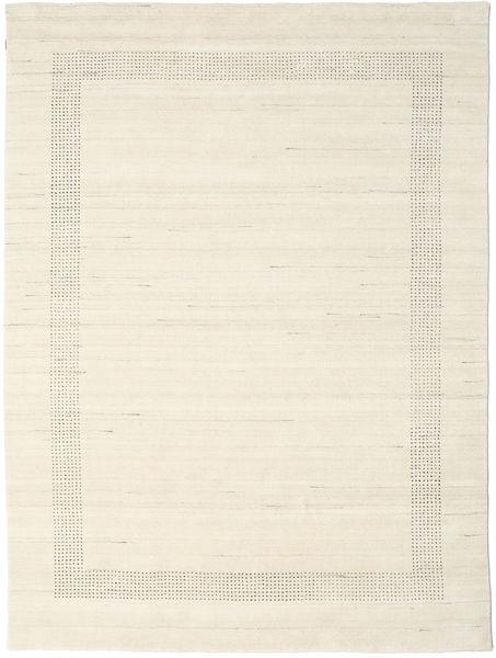Handloom Gabba - Natural Tapete 210X290 Moderno Bege (Lã, Índia)