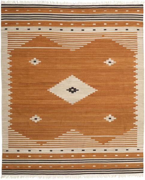Tribal - Amarelo Mostarda Tapete 250X300 Moderno Tecidos À Mão Castanho/Bege Grande (Lã, Índia)