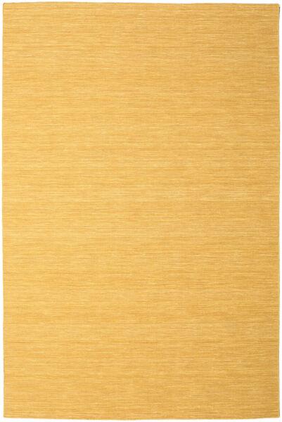 Kilim Loom - Amarelo Tapete 250X350 Moderno Tecidos À Mão Castanho Claro/Bege Escuro Grande (Lã, Índia)