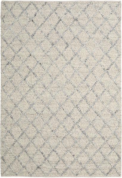 Rut - Prata/Cinzento Melange Tapete 250X350 Moderno Tecidos À Mão Cinzento Claro/Bege Escuro Grande (Lã, Índia)