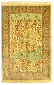 Ghom Seda Figurativo/Imagens Tapete 131X198 Oriental Feito A Mão (Seda, Pérsia/Irão)