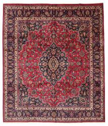 Mashad Assinado: Maebodi Tapete 303X360 Oriental Feito A Mão Grande (Lã, Pérsia/Irão)