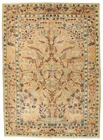 Najafabad Patina Figurativo/Imagens Tapete 175X240 Oriental Feito A Mão (Lã, Pérsia/Irão)