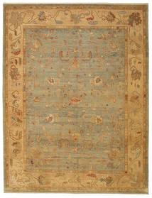 Usak Tapete 279X366 Oriental Feito A Mão Grande (Lã, Turquia)