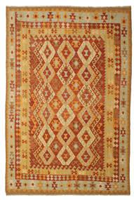 Kilim Afegão Old Style Tapete 197X293 Oriental Tecidos À Mão (Lã, Afeganistão)