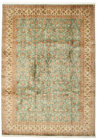 Kashmir Pura Seda Tapete 223X313 Oriental Feito A Mão (Seda, Índia)