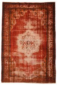 Colored Vintage Tapete 186X275 Moderno Feito A Mão (Lã, Turquia)
