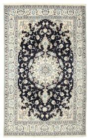 Nain Tapete 190X305 Oriental Feito A Mão (Lã/Seda, Pérsia/Irão)