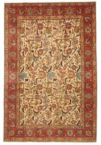 Tabriz Patina Figurativo/Imagens Assinado: Hadadian Tapete 203X304 Oriental Feito A Mão (Lã, Pérsia/Irão)