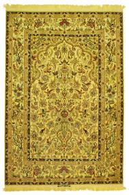 Isfahan Seda Trama Figurativo/Imagens Assinado: Nasr Tapete 142X210 Oriental Feito A Mão (Lã/Seda, Pérsia/Irão)