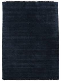 Handloom Fringes - Azul Escuro Tapete 250X350 Moderno Azul Escuro Grande (Lã, Índia)