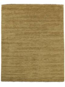 Handloom Fringes - Verde Azeitona Tapete 200X250 Moderno Verde Azeitona/Castanho (Lã, Índia)