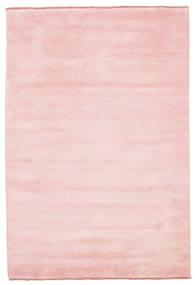 Handloom Fringes - Rosa Tapete 160X230 Moderno Luz Rosa (Lã, Índia)