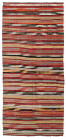 Kilim Semi-Antigo Turquia Tapete 167X370 Oriental Tecidos À Mão Tapete Passadeira Vermelho Escuro/Castanho Alaranjado (Lã, Turquia)