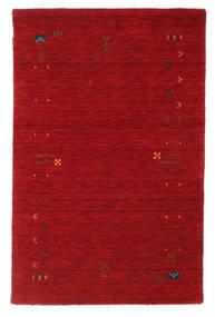 Gabbeh Loom Frame - Vermelho Tapete 100X160 Moderno Vermelho/Vermelho Escuro (Lã, Índia)