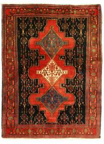 Senneh Tapete 126X175 Oriental Feito A Mão (Lã, Pérsia/Irão)