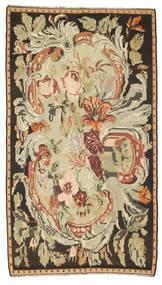 Kilim Rose Tapete 180X315 Oriental Tecidos À Mão Castanho/Bege Escuro (Lã, Moldávia)