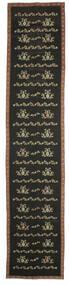 Kilim Bulgarian Tapete 174X850 Oriental Tecidos À Mão Tapete Passadeira Cinza Escuro (Lã, Bulgária)