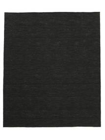 Kilim Loom - Preto Tapete 250X300 Moderno Tecidos À Mão Preto Grande (Lã, Índia)
