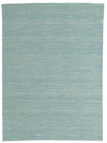 Kilim Loom - Mint Verde Tapete 140X200 Moderno Tecidos À Mão Verde Pastel/Azul Turquesa (Lã, Índia)