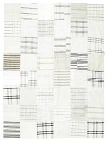 Kilim Patchwork Tapete 170X227 Moderno Tecidos À Mão Bege/Cinzento Claro (Lã, Turquia)