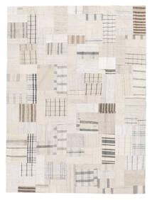 Kilim Patchwork Tapete 170X229 Moderno Tecidos À Mão Bege/Branco/Creme (Lã, Turquia)