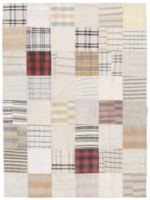Kilim Patchwork Tapete 171X229 Moderno Tecidos À Mão Branco/Creme/Bege (Lã, Turquia)
