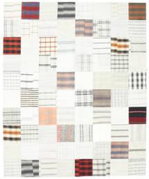Kilim Patchwork Tapete 250X304 Moderno Tecidos À Mão Branco/Creme/Bege Grande (Lã, Turquia)