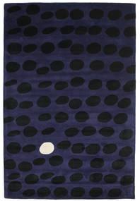 Camouflage Handtufted - Escuro Tapete 200X300 Moderno Preto/Azul Escuro (Lã, Índia)
