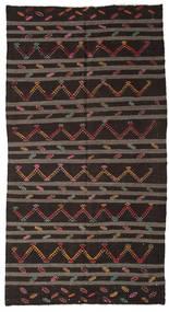 Kilim Semi-Antigo Turquia Tapete 194X364 Oriental Tecidos À Mão (Lã, Turquia)