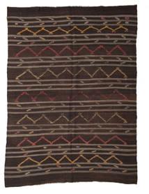 Kilim Semi-Antigo Turquia Tapete 250X340 Oriental Tecidos À Mão Castanho Escuro/Castanho Grande (Lã, Turquia)