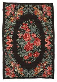 Kilim Rose Moldavia Tapete 176X256 Oriental Tecidos À Mão Castanho Escuro/Cinza Escuro (Lã, Moldávia)