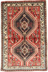 Ghashghai Tapete 97X150 Oriental Feito A Mão Castanho Escuro/Vermelho Escuro (Lã, Pérsia/Irão)