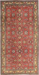 Tabriz Patina Tapete 168X318 Oriental Feito A Mão Vermelho Escuro/Castanho Claro (Lã, Pérsia/Irão)