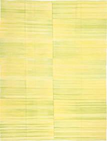 Kilim Moderno Tapete 216X286 Moderno Tecidos À Mão Amarelo (Lã, Afeganistão)