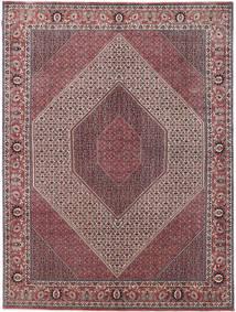 Bijar Takab/Bukan Tapete 250X337 Oriental Feito A Mão Castanho Escuro/Lilás Grande (Lã, Pérsia/Irão)