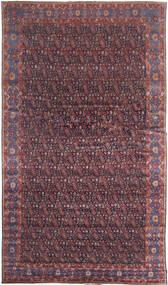 Senneh Tapete 368X639 Oriental Feito A Mão Castanho Escuro/Roxo Grande (Lã, Pérsia/Irão)