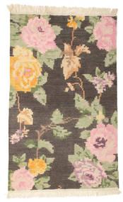 Kilim Karabakh Amira - Castanho Tapete 100X160 Moderno Tecidos À Mão Castanho Escuro/Bege Escuro (Lã, Índia)