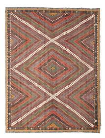 Kilim Semi-Antigo Turquia Tapete 210X271 Oriental Tecidos À Mão Castanho Claro/Vermelho Escuro (Lã, Turquia)