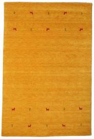 Gabbeh Loom Two Lines - Amarelo Tapete 190X290 Moderno Castanho Claro/Amarelo (Lã, Índia)