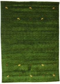 Gabbeh Loom Two Lines - Verde Tapete 160X230 Moderno Verde Escuro (Lã, Índia)