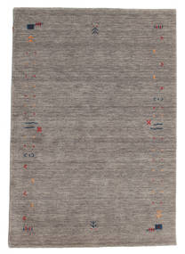 Gabbeh Loom Frame - Cinzento Tapete 140X200 Moderno Cinzento Claro/Cinza Escuro (Lã, Índia)