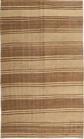 Kilim Moderno Tapete 174X289 Moderno Tecidos À Mão Castanho/Castanho Claro/Bege Escuro (Lã, Pérsia/Irão)