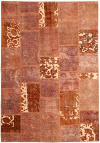 Patchwork Tapete 166X243 Moderno Feito A Mão Vermelho/Vermelho Escuro (Lã, Pérsia/Irão)