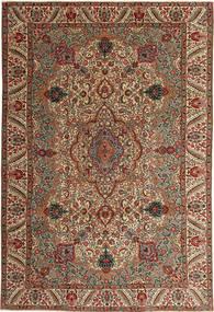 Tabriz Patina Tapete 217X323 Oriental Feito A Mão Castanho Escuro/Castanho Claro (Lã, Pérsia/Irão)