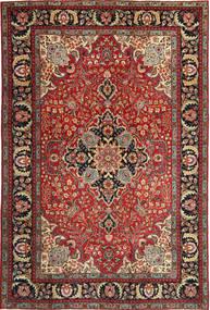 Tabriz Patina Tapete 205X305 Oriental Feito A Mão Vermelho Escuro/Castanho Escuro (Lã, Pérsia/Irão)